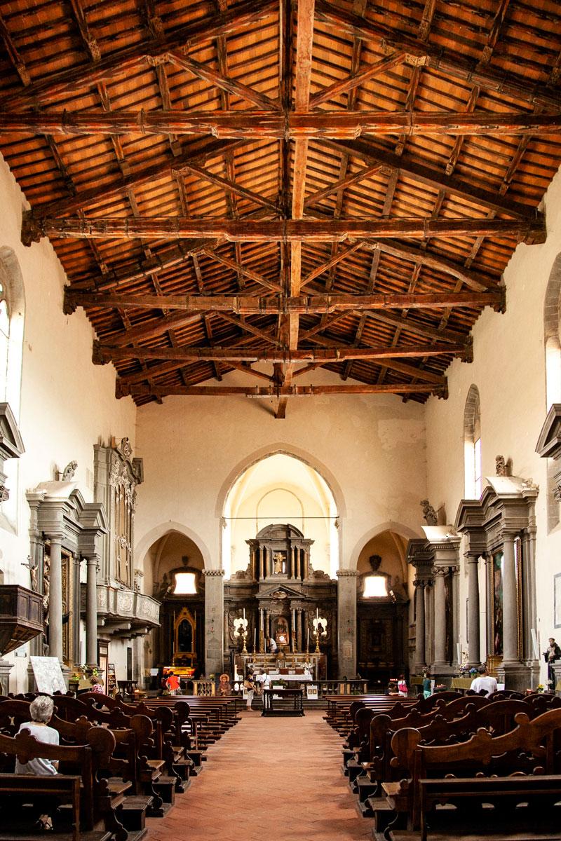 Interni della Chiesa di San Francesco