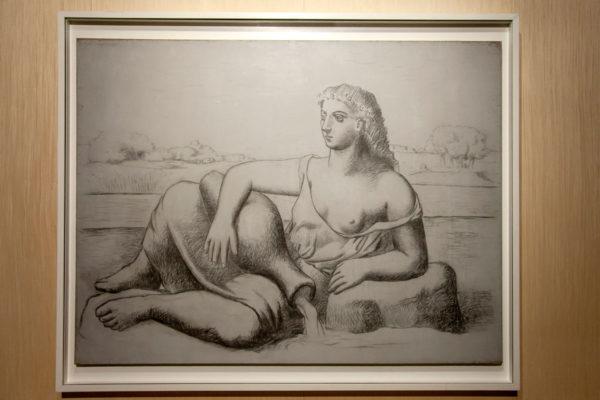 La Sorgente - Grande Dipinto di Pablo Picasso del 1921 - Picasso Metamorfosi a Milano