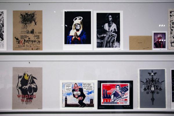 Locandine sulla guerra di Banksy