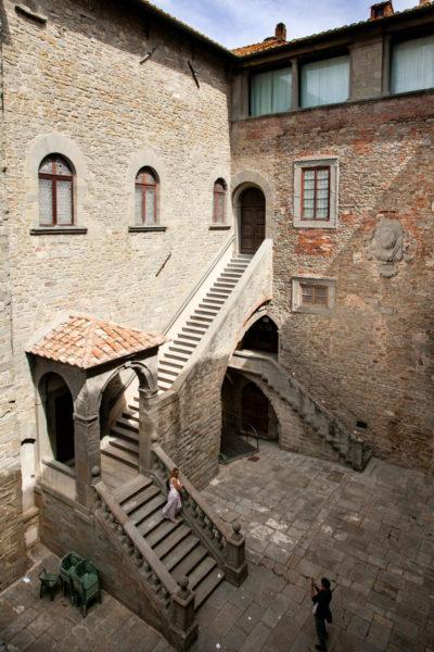MAEC - Scalinata e Cortile interno - Museo Accademia Etrusca