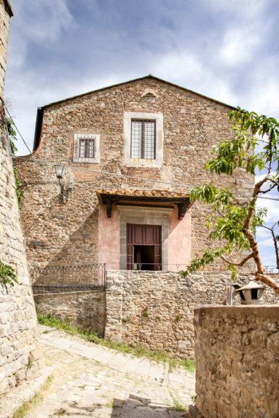 Monastero e chiesa della Santa Trinità di Cortona