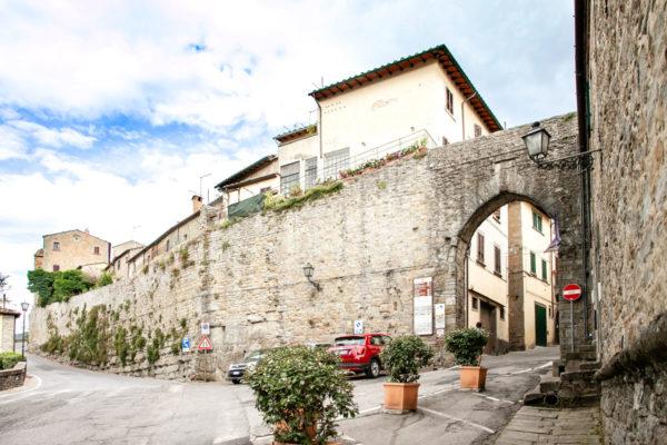 Mura della città di Cortona - Origine Etrusca