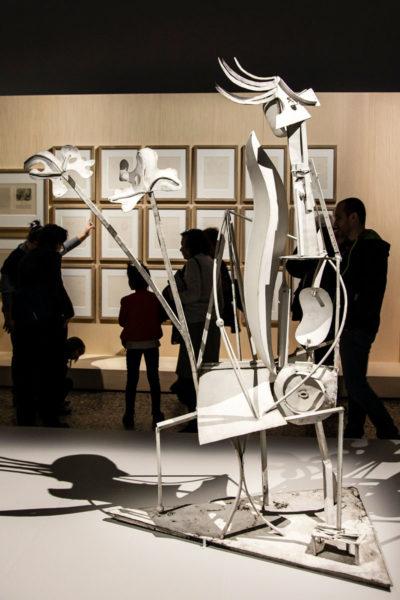 Pablo Picasso - Scultura la Donna in Giardino