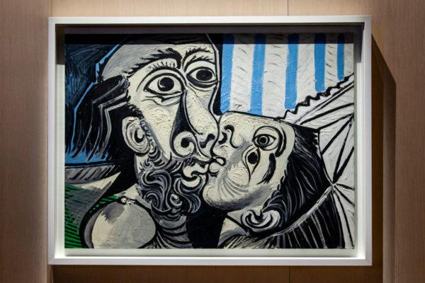 Picasso - Il Bacio in Mostra a Picasso Metamorfosi - Palazzo Reale di Milano
