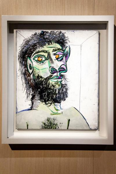 Picasso - Testa di Uomo Barbuto - 1938