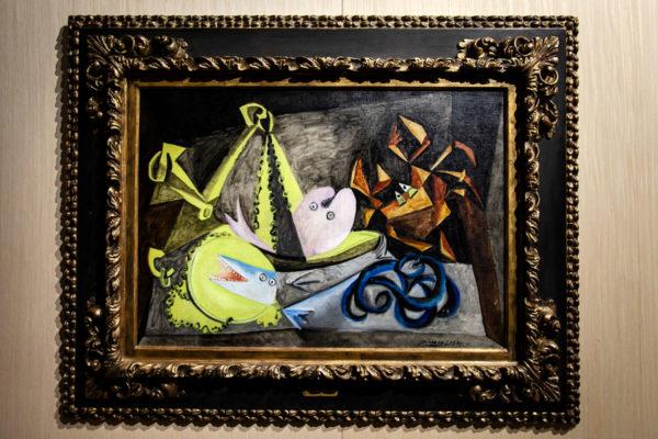 Picasso dipinto con animali marini