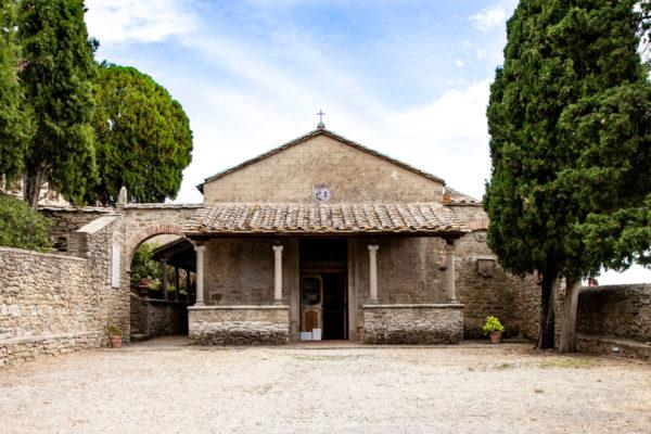 Porticato romanico della chiesa di san Niccolò - Cortona