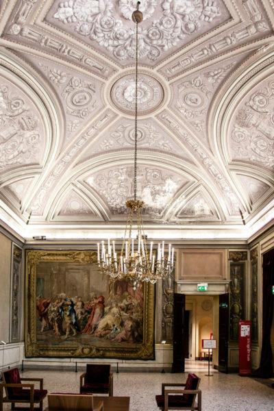 Sala degli Arazzi di Palazzo Reale di Milano - Soffitti decorati
