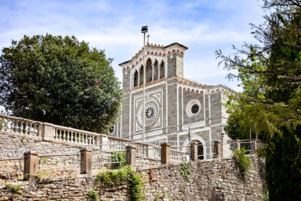 Santuario di Santa Margherita di Cortona - Facciata