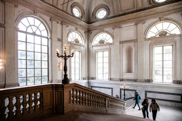 Scalone d'onore - Dentro al Palazzo Reale - Mostre a Milano