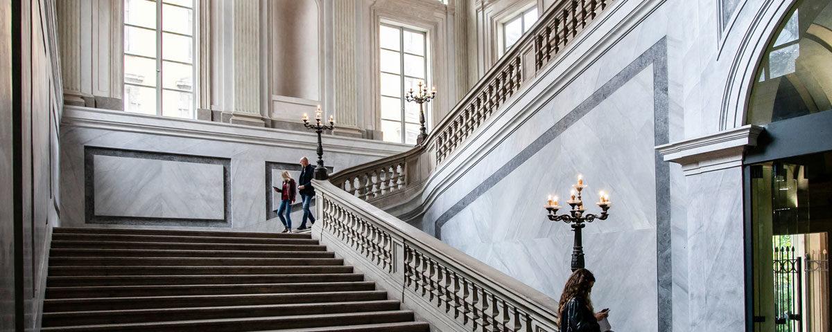 Scalone d'onore - Palazzo reale di Milano