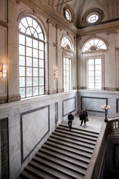Sede di Mostre d'Arte di Milano - Scalinata ingresso palazzo Reale