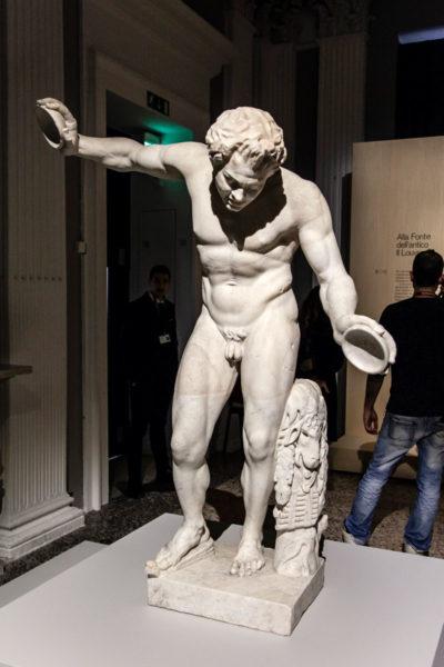 Statua alla Mostra Picasso Metamorfosi - Alla fonte dell antico - Il Louvre