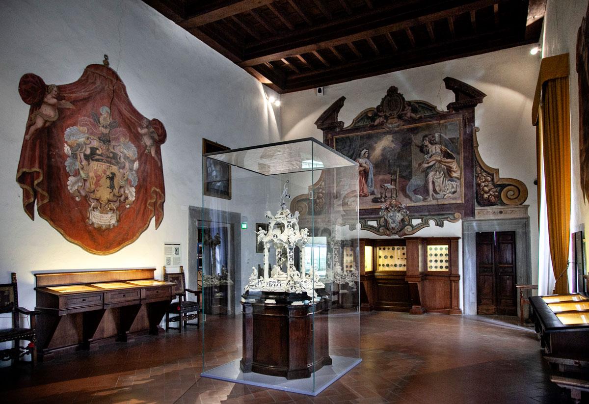 Tempietto dedicato alle glorie della Toscana - MAEC