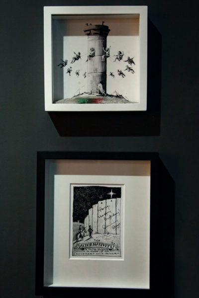 The Alterativity - Banksy 2017 - forte critica al muro palestinese