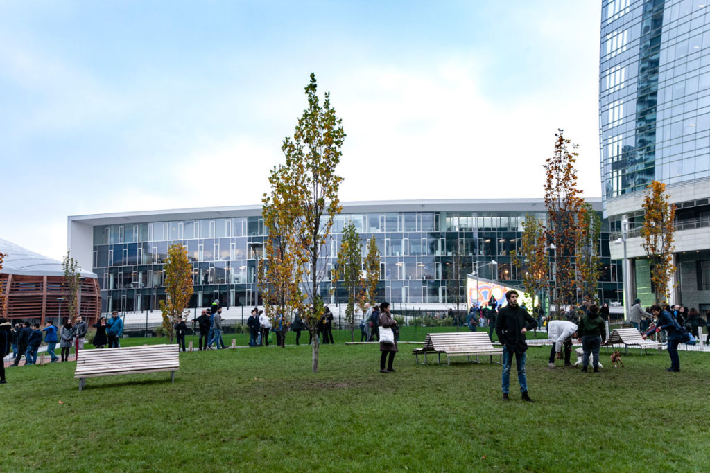 Area Sgambamento Cani al Parco Biblioteca degli Alberi di Milano