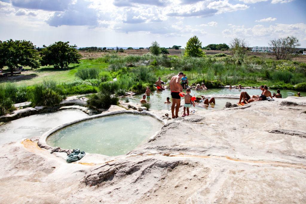 Bagni Termali di Viterbo - piscine Carletti