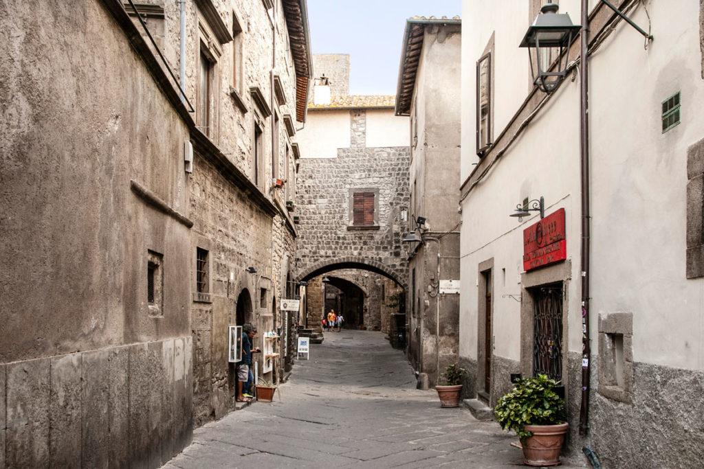 Case a Ponte nel quartiere medievale di Viterbo