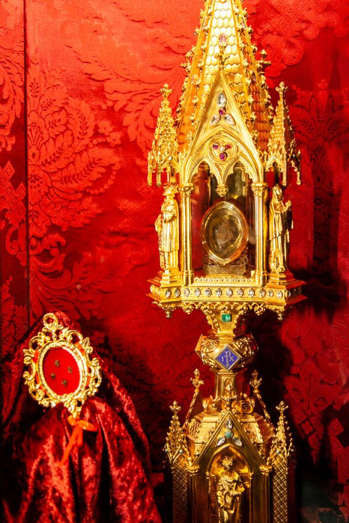 Cuore e reliquie di Santa Rosa