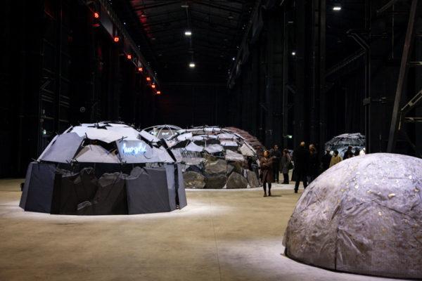 Gli Igloo di Mario Merz - Mostra Igloos Hangar Bicocca Milano