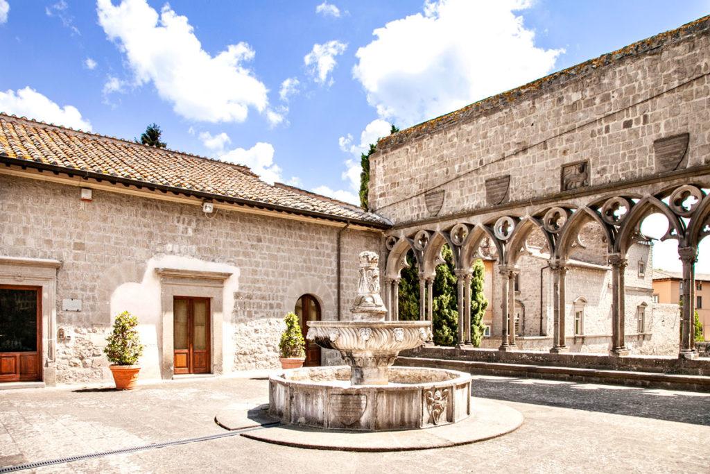 Loggia delle Benedizioni o Loggia dei Papi in Palazzo dei Papi a Viterbo