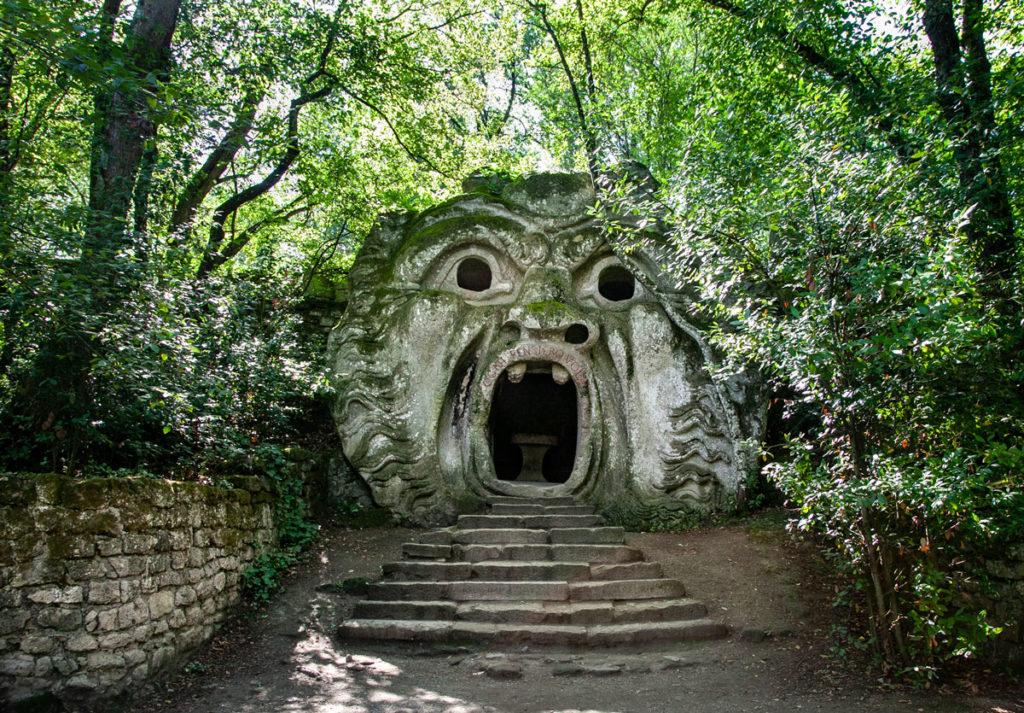 Orco - Statua Emblema del Parco di Mostri di Bomarzo
