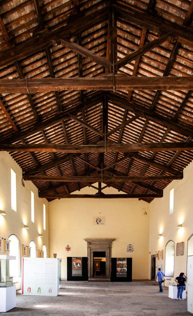 Palazzo dei Papi di Viterbo - Sala del Conclave