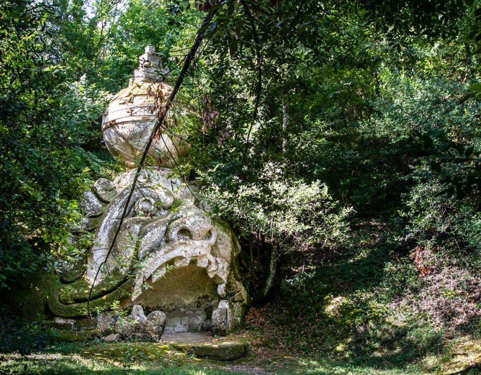 Proteo o Glauco - Statua Mostro a Bocca Aperta di Bomarzo