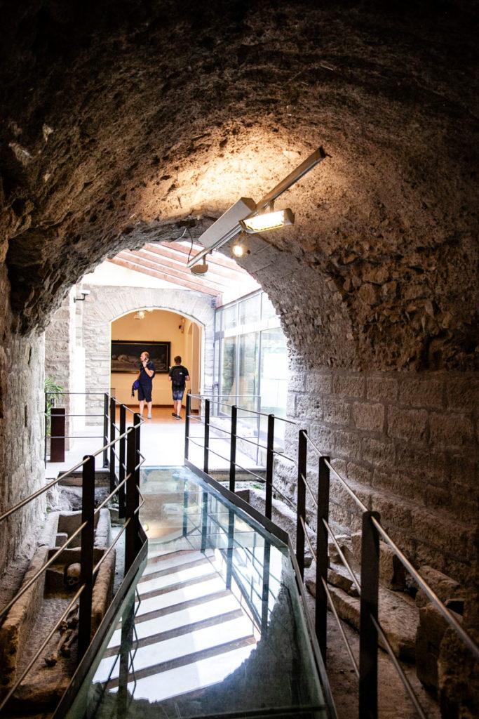 Sala Archeologica - Museo colle del duomo