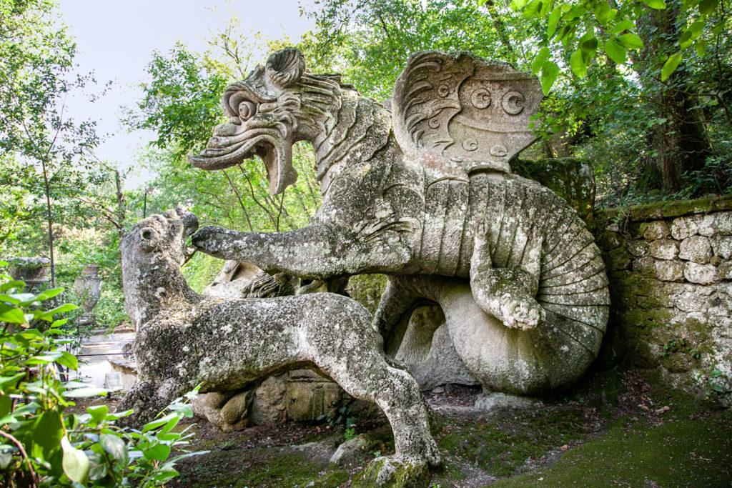 Statua del Drago