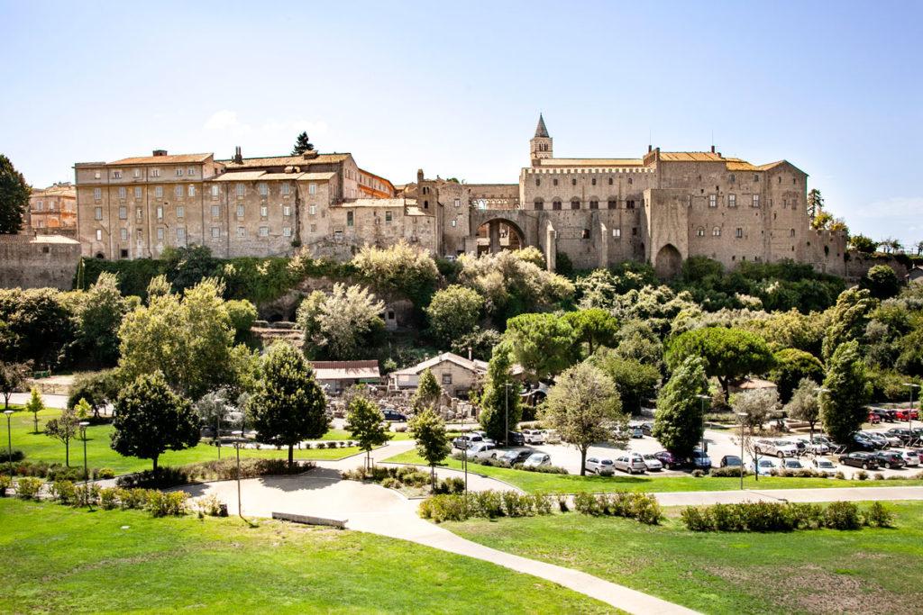 Valle Faul di Viterbo sotto al palazzo dei Papi