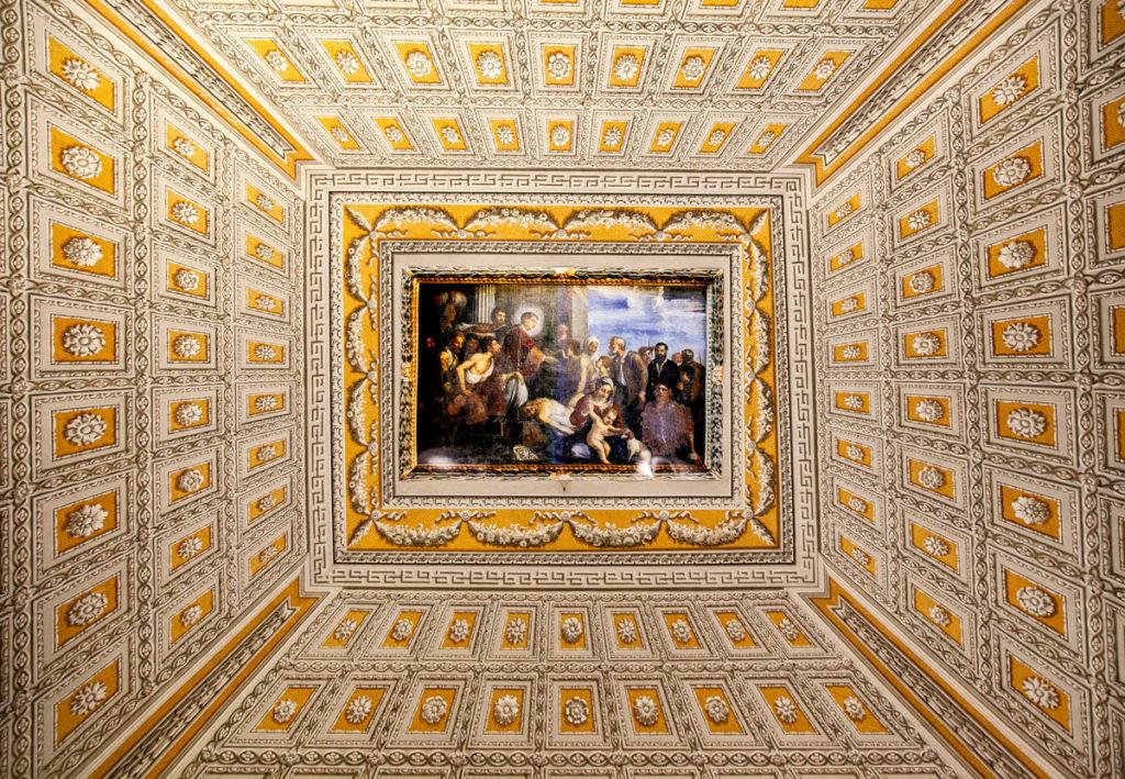 Volta della Sacrestia della cattedrale di San Lorenzo - opera San Lorenzo e i Poveri