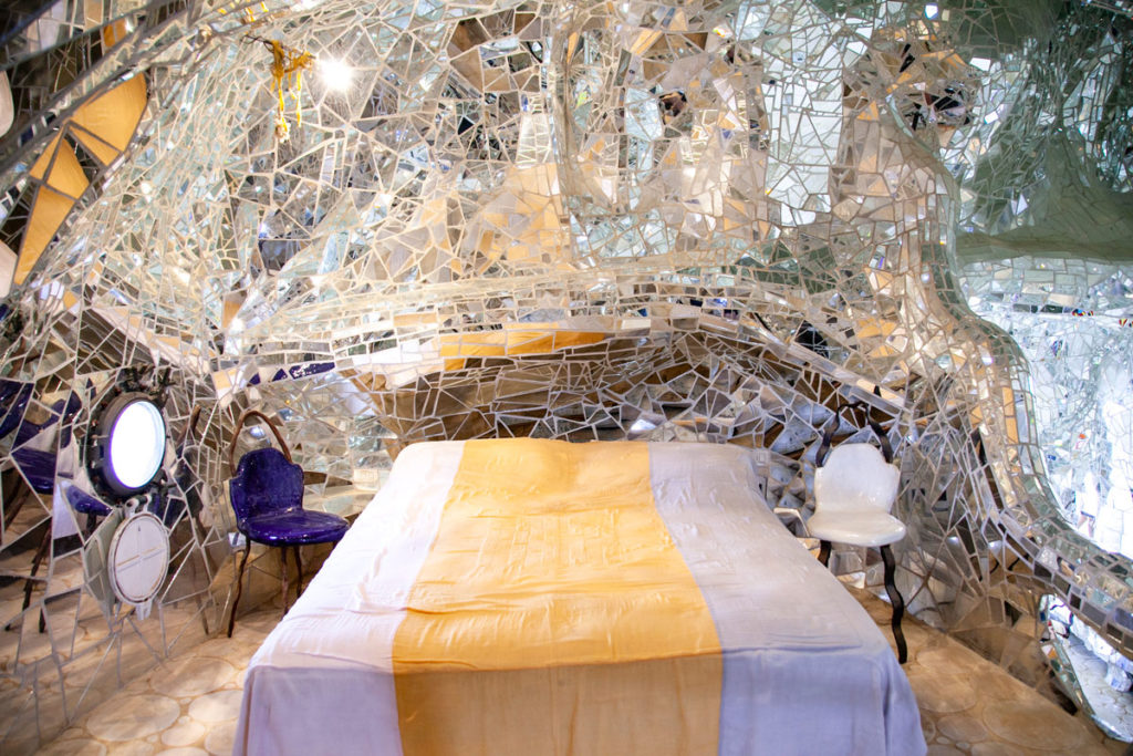 Camera da Letto di Niki de Saint Phalle dentro a Imperatrice