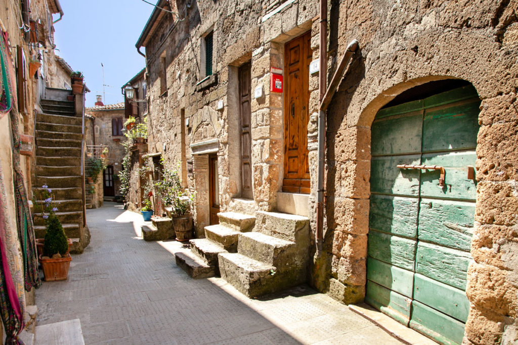Case e Portoni di Pitigliano - la Piccola Gerusalemme