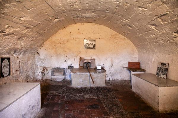 Forno delle Azzime dentro al Ghetto Ebraico di Pitigliano