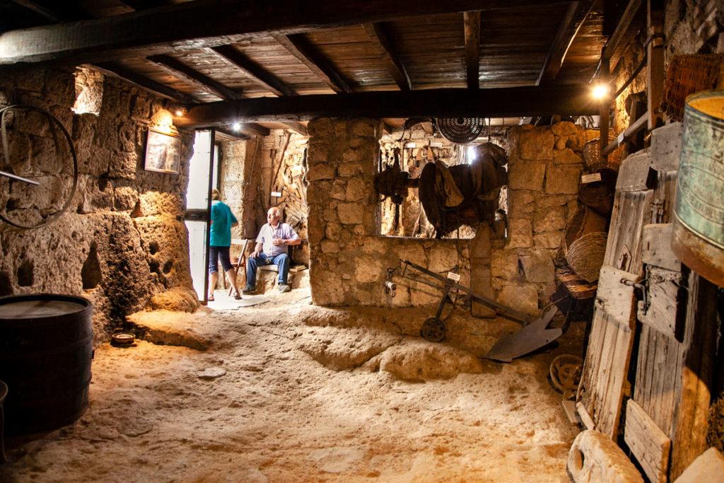 Grotte Sotterranee Antica Civitas - Set di Pinocchio - Civita di Bagnoregio