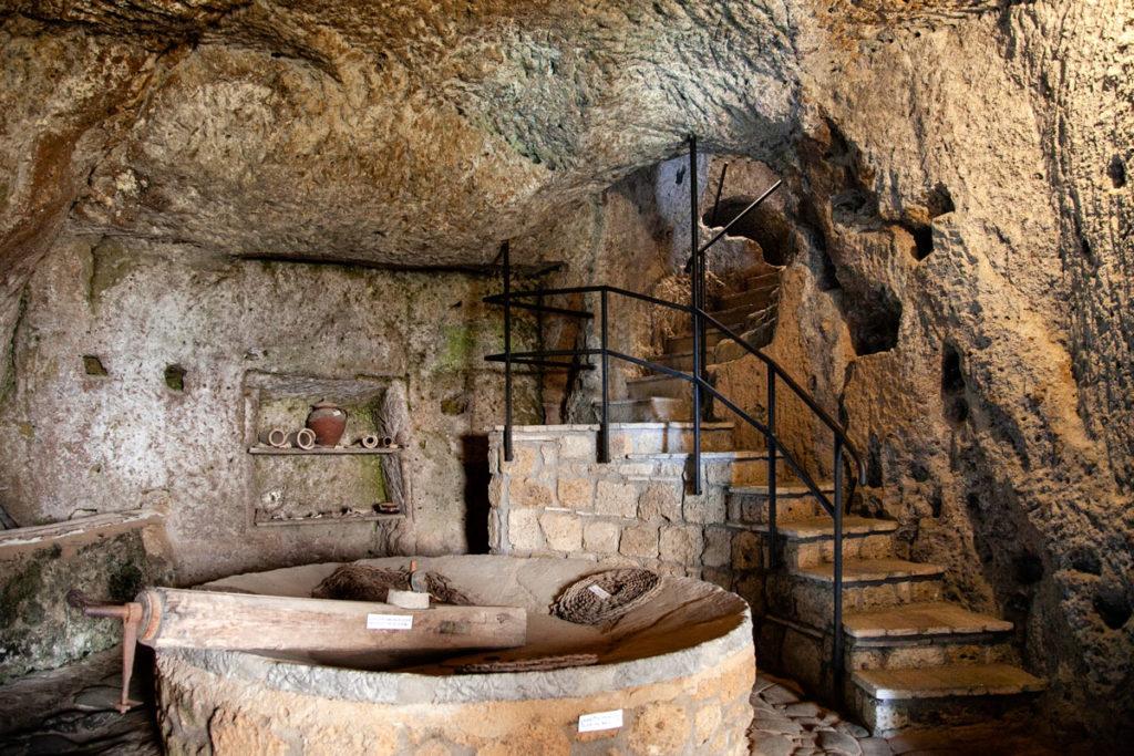 Grotte Sotterranee Antica Civitas - il Pozzo - Civita di Bagnoregio