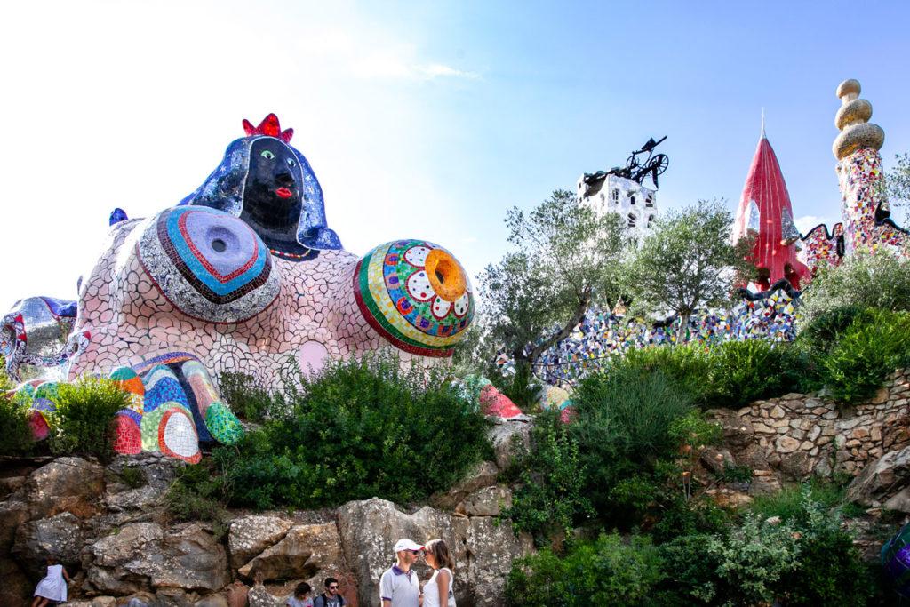 Imperatrice Sfinge - Tarocchi nel Giardino di Capalbio
