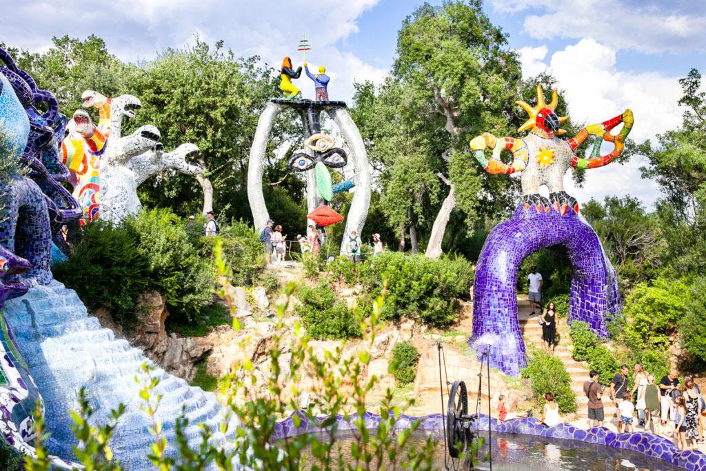 Le grandi sculture del Giardino dei Tarocchi