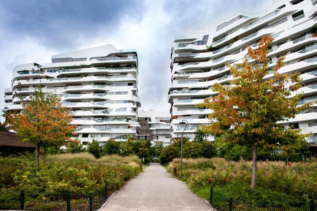 Milano CityLife - Residenze Hadid - Edifici come Navi