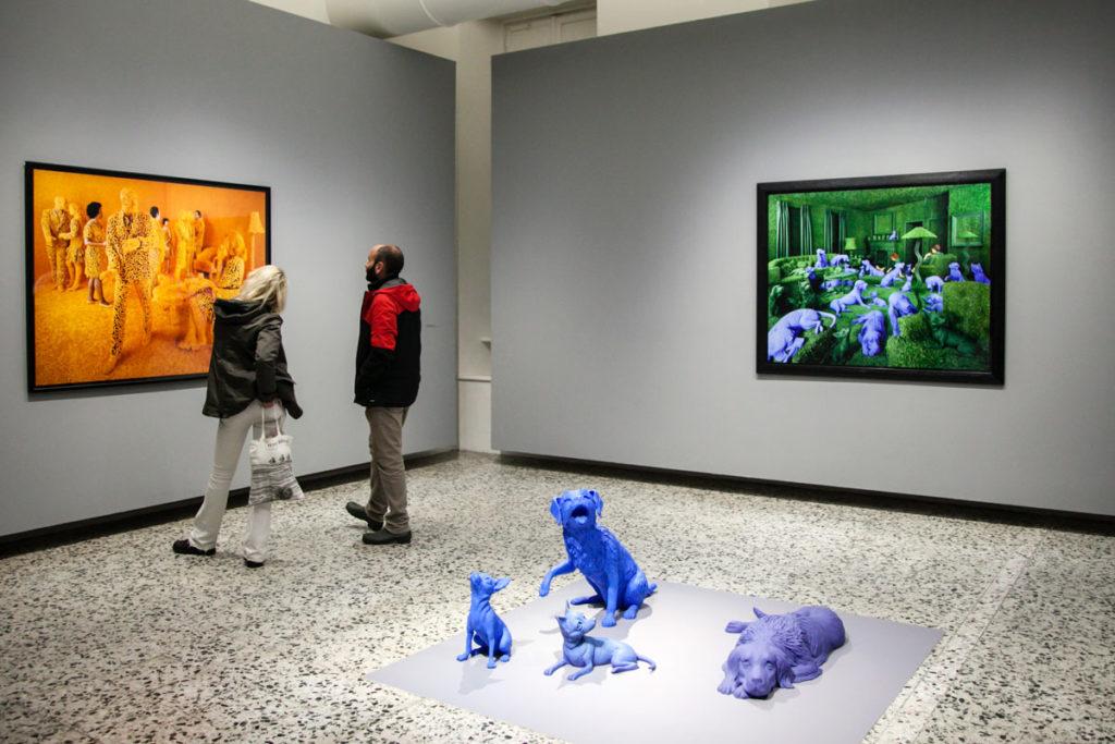 Mostra di Sandy Skoglund a Torino - Visioni Ibride