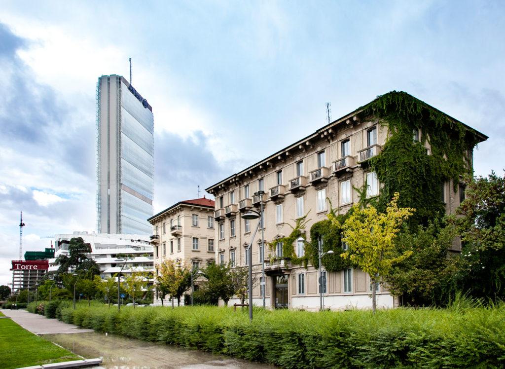 Palazzi liberty e torre Allianz