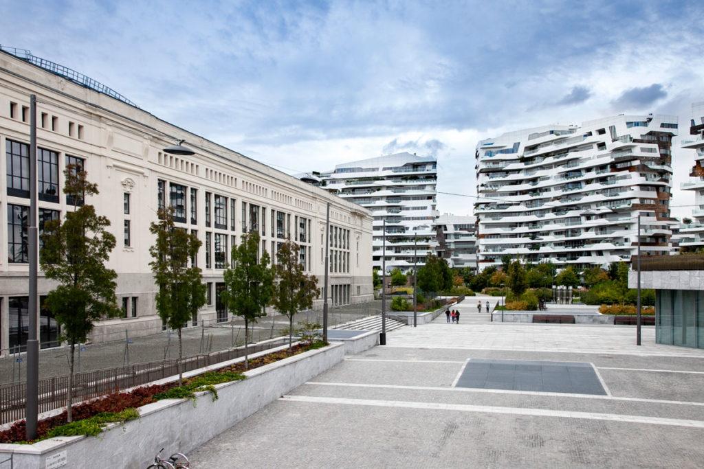 Palazzo delle Scintille e Residenze Hadid nella ex fiera di Milano