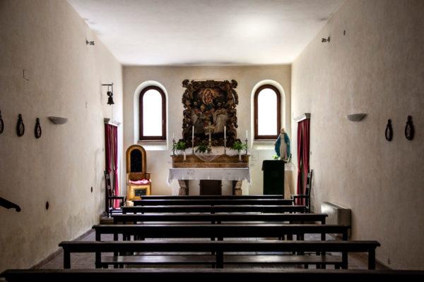 Piccola cappella dentro al duomo di Pitigliano - Cattedrale dei Santi Pietro e Paolo