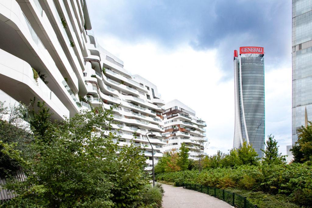 Residenze Hadid e Torre Hadid o Torre Generali a CityLife di Milano