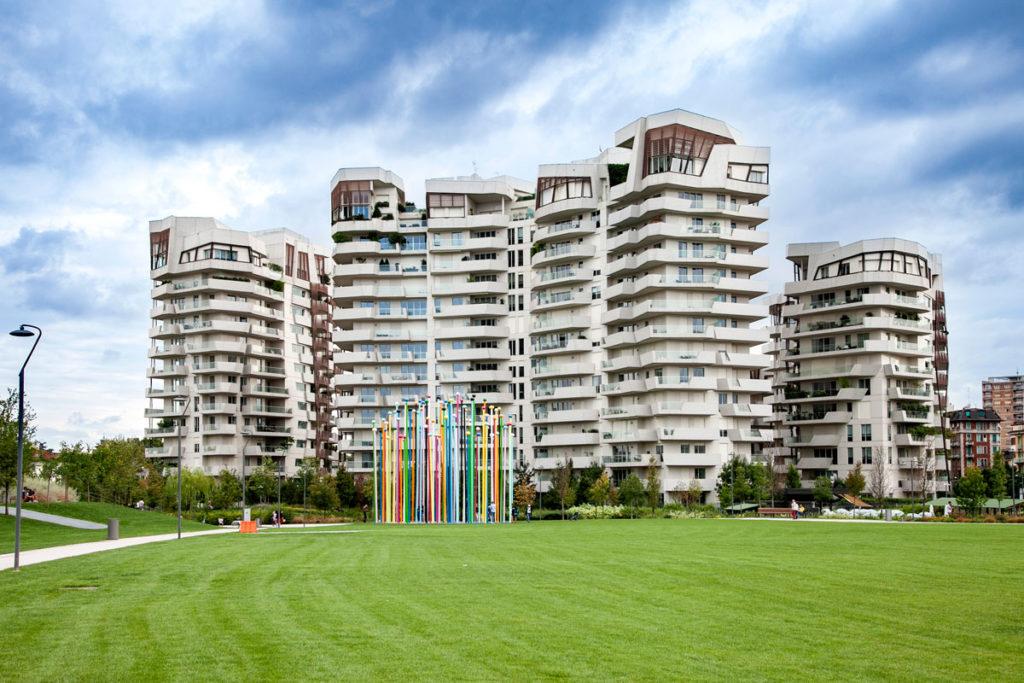 Residenze Libeskind nel nuovo quartiere di CityLife