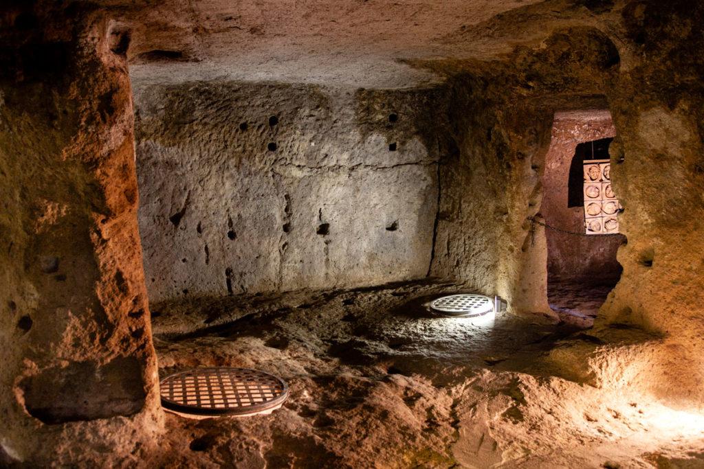 Sala del Bagno Rituale nel Ghetto di Pitigliano