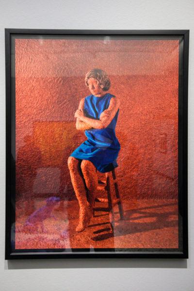 Sandy Skoglund - Spirituality in the Flesh - 1992 - Donna ricoperta di carne macinata