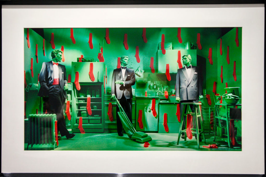 Sock Situation - 1986 - Mostra di Sandy Skoglund a Torino