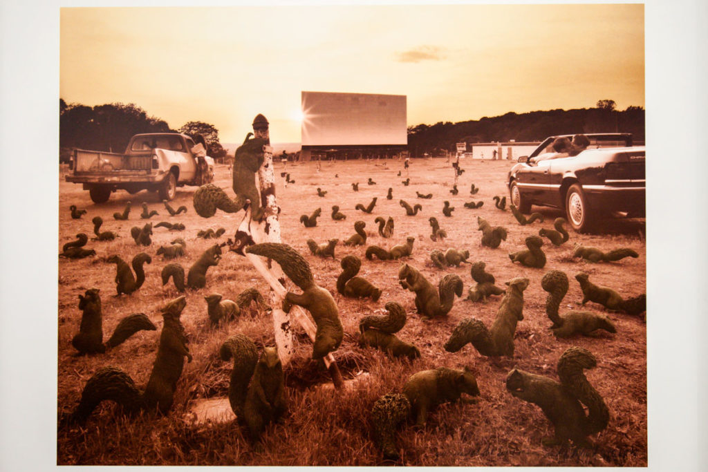 Squirrels at the Drive-In - 1996 gli scoiattoli di Sandy Skoglund